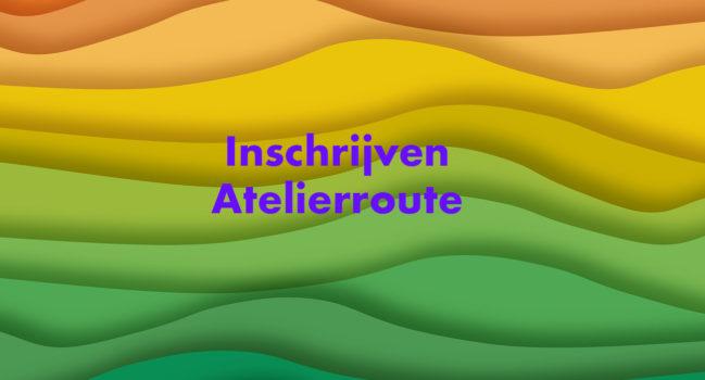 Inschrijven Atelierroute Schiebroek-Hillegersberg